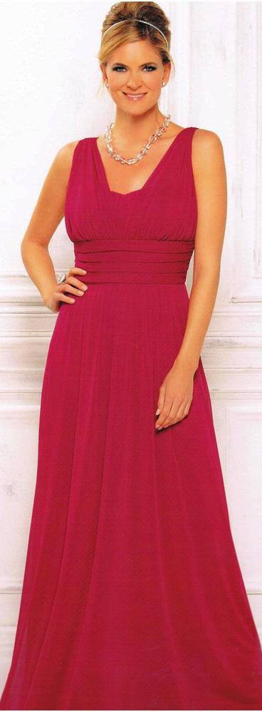 Grecian style gown with a sweetheart neckline - size 8 and 14 only