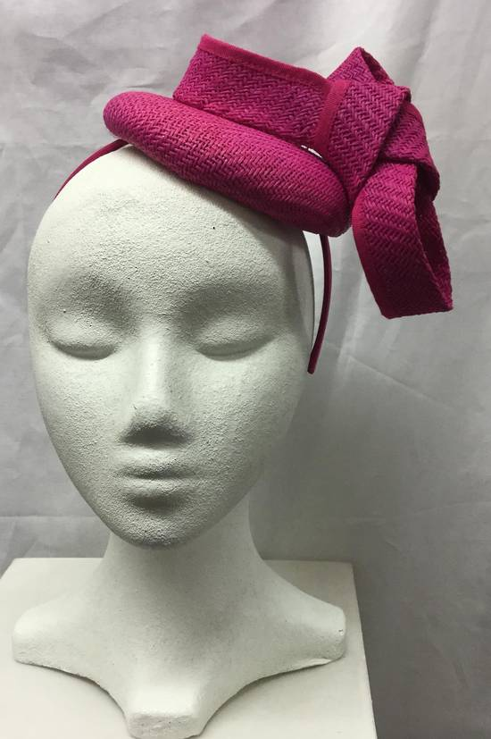 Fuchsia (hot pink) cocktail hat