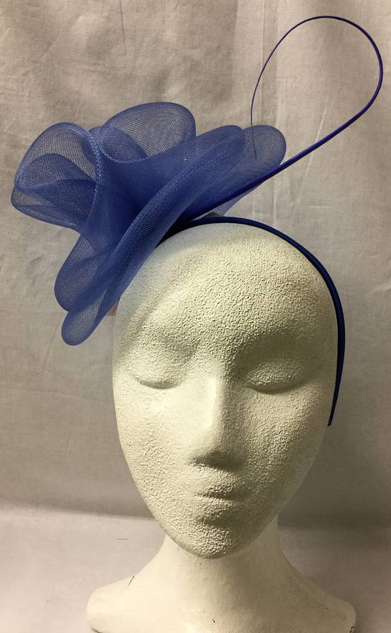 Royal double rosettes on headband - one only