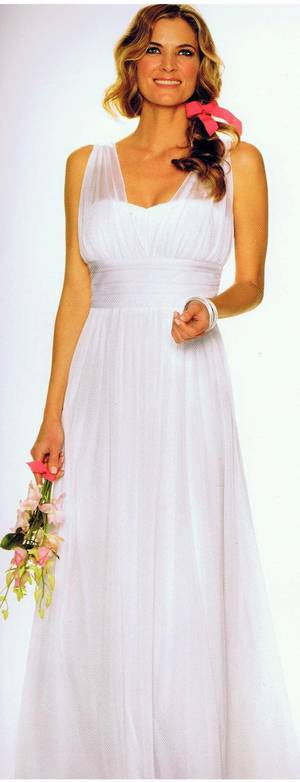 GRECIAN BRIDAL and BRIDESMAID GOWN - 4681