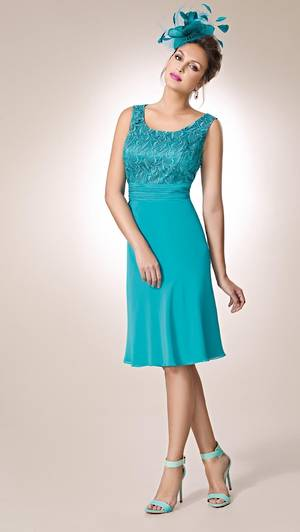 Lace dress and jacket - NOT THE COLOUR PICTURED sizes 8/10 and 18/20