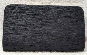 Black clutch bag - one only