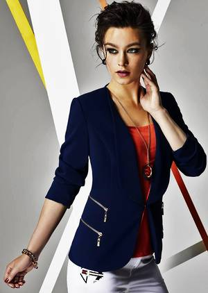 Navy blazer jacket