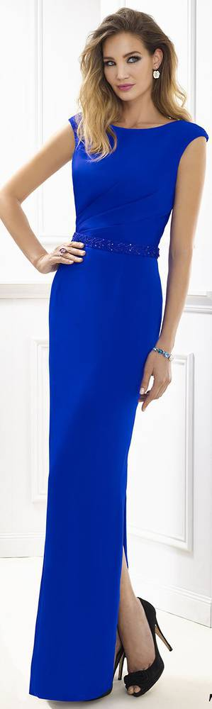Electric full length gown - SIZE 16 ONLY
