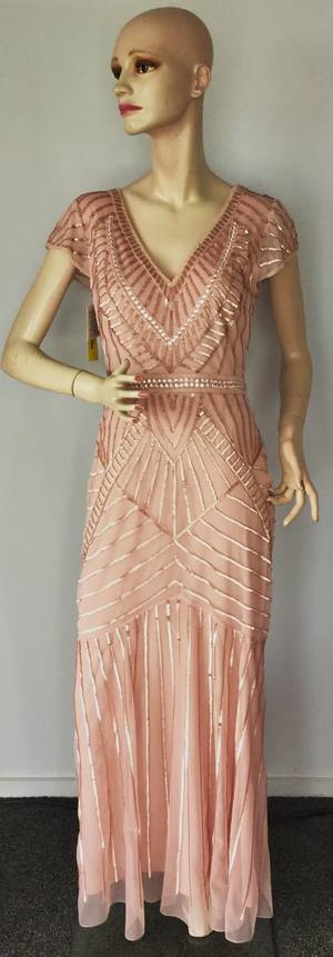 Grecian style gown - size 10 only