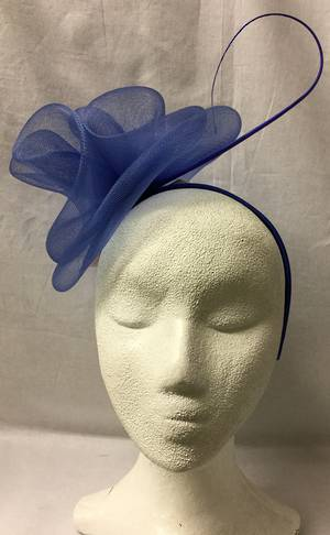 Royal double rosettes on headband