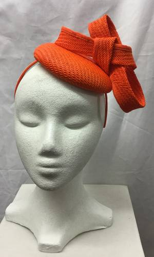Orange cocktail hat